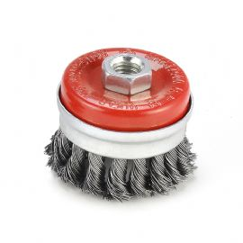 Wire wheel Cup brush,knotted