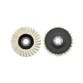 Non-woven flap disc Felt polishing flap wheel