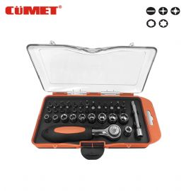38PCS RATCHET BIT & SOCKET SET CF-40230